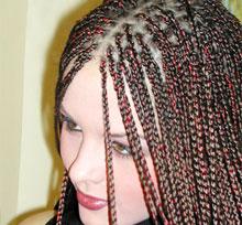 Вредные афрокосички для волос