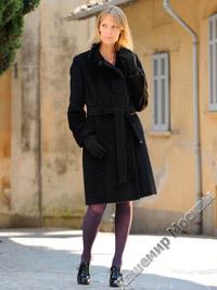 Увеличить модель пальто С 181 L черн.
