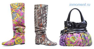 Модная обувь и сумки весна-лето 2010 от Baldinini (Балдинини)