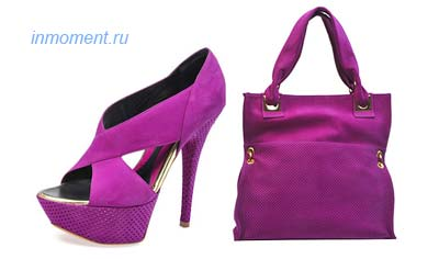 Роскошь цвета: обувь и сумки весна-лето 2010 от Baldinini (Балдинини)
