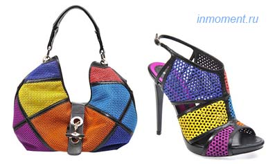 Сумки коллекции весна-лето 2010 от известного итальянского бренда...