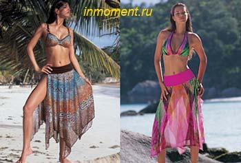 Описание: пляжные платья вязанные крючком журнал мод.
