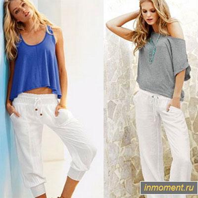 Модные брюки на лето 2017 женские