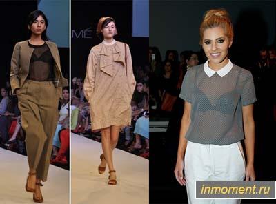 Мода Блузки 2014 Фото