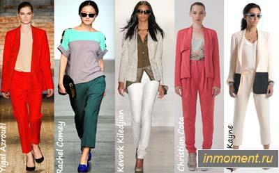 Деловая мода весна-2012