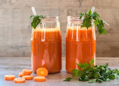 морковный сок от паразитов