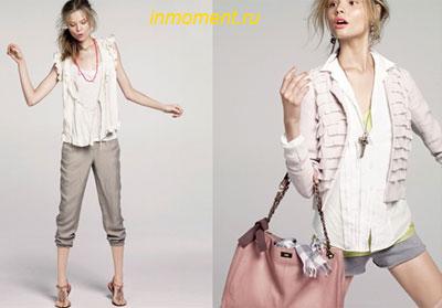 женская одежда в стиле casual.