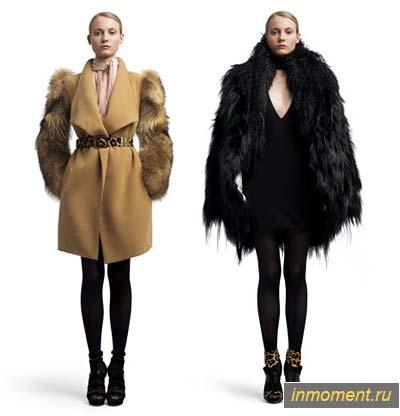 зимнее пальто с мехом фото цена - Сумки