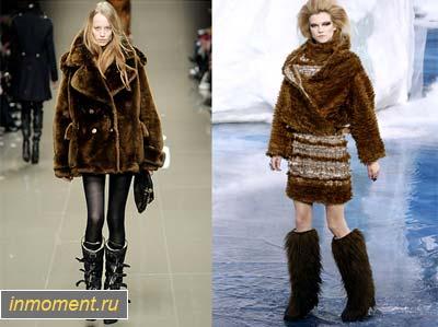 Модные фасоны зимней верхней одежды