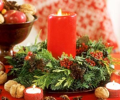 Сервировка и украшение новогоднего стола 2016