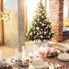 Сервировка и украшение новогоднего стола 2018