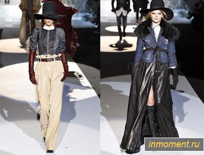 Мода на джинсы осень 2012-зима 2013