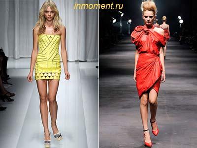 Модельные платья как сшить маленькое