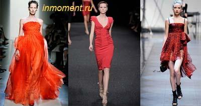 модные платья весна - лето 2010