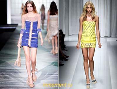 Рубашки модные платья весна лето 2010