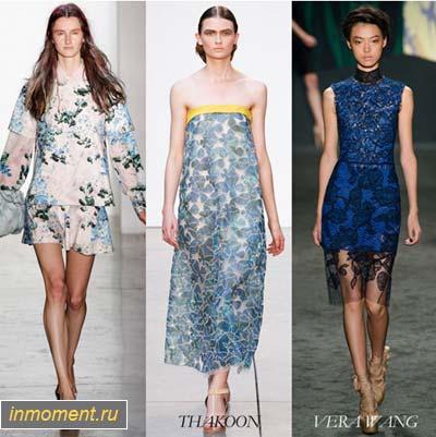 Модные вечерние платья лета 2013