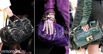 Модные сумки сезона осень-зима 2009-2010: Цветовая гамма.
