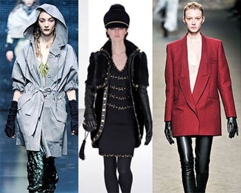 Дизайнеры добавляют стиль 80-х в верхнюю одежду.  8.