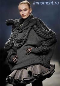 Модные юбки осень зима 2009 2010 ткани и