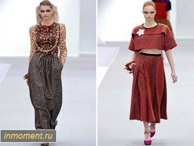 юбка макси 2012 осень: