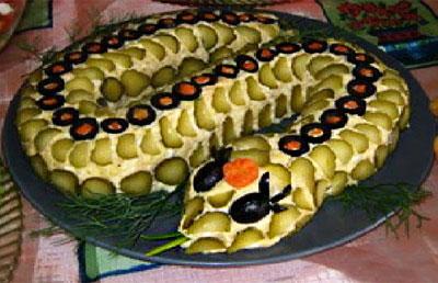 Горячие блюда и салаты на Новый 2013 год