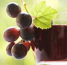 Как сделать виноградное сок в домашних условиях