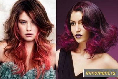 Модный цвет волос осень 2014