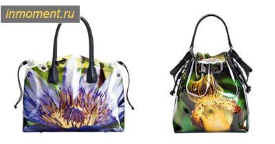 """...лето 2011! """", """"description """": """" Хотя Furla известна своими великолепными кожаными сумками, к этому весенне-летнему"""