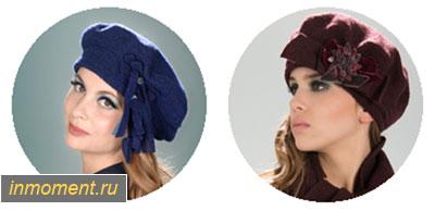 Модные головные уборы осень 2014