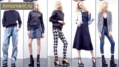Джинсовые юбки 2015 фото