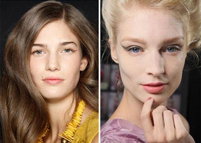 Модный макияж весна 2012