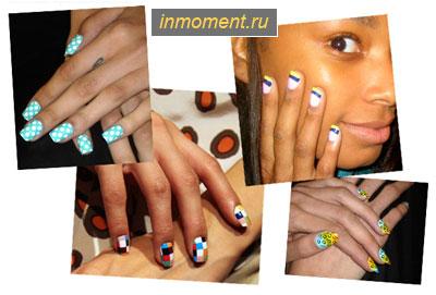 модный маникюр весна 2011
