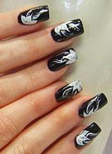 Нейл арт дизайн. Дизайн ногтей самостоятельно. Примеры nail art
