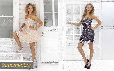 Выпускные платья 2012 короткие и очень короткие!