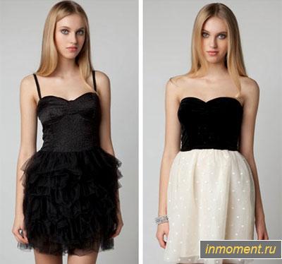 В чем встречать новый год 2015 - платье