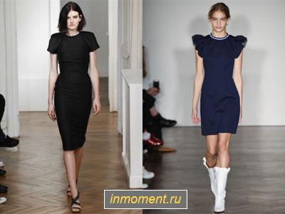 Картинки модных платьев для офиса