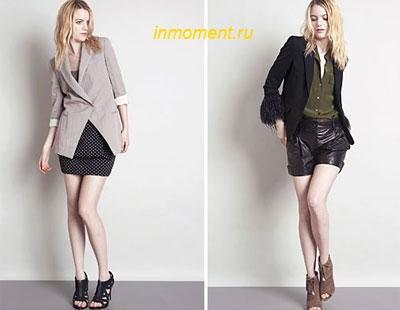 модная офисная одежда для женщин лето 2010