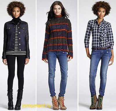 Модные джинсы и другая джинсовая одежда сезона осень-зима 2015/16 года настолько разнообразны и многогранны, что трудно ограничиться определенными трендами