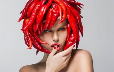 Перец чили и водка для волос