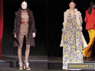 Модный портал. Коллекция дубленок 2011