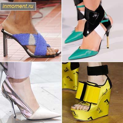 Модная обувь показать
