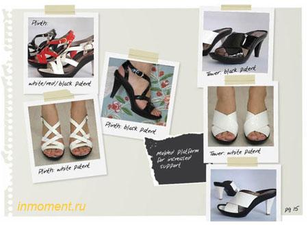 Босоножки модная обувь