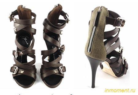 Модная обувь лето 2010: босоножки, сандалии, вьетнамки. Цвет и