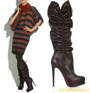 Сапоги женские зимние на платформе | Модная обувь