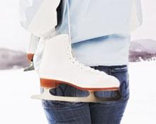 Катание на коньках: как правильно выбрать коньки и каток, учимся кататься на коньках. Уход за коньками и защита лезвий