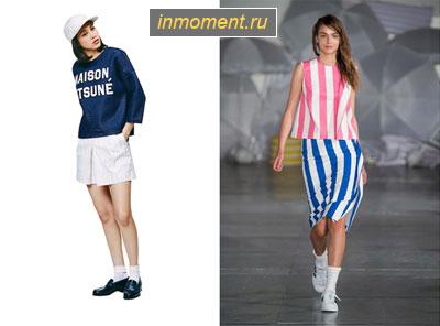 Модные спортивные юбки фото