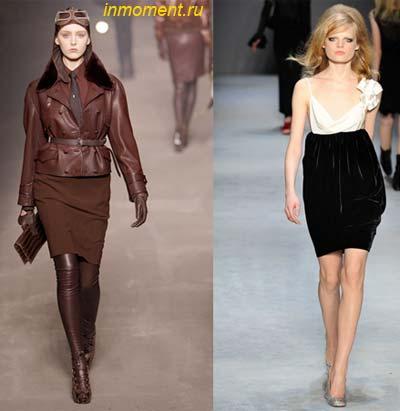 Модные юбки осень 2010 года