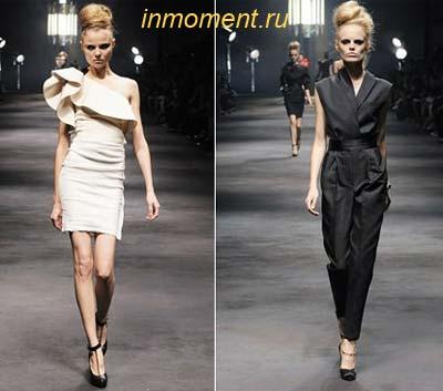 Мода от кутюр: модные коллекции от домов моды Lanvin, Christian