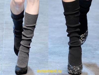 Носки выглядят как продолжение ботинок, с которыми их носят.  Теперь вы можете смело показать всем...