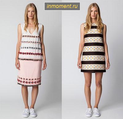 Платья под кеды модные фото